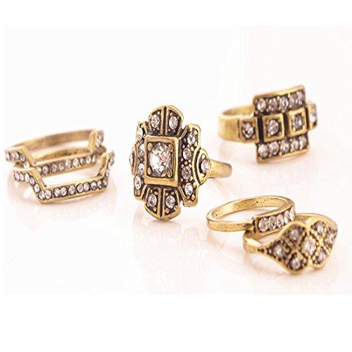 Gold Ring Set Amazon