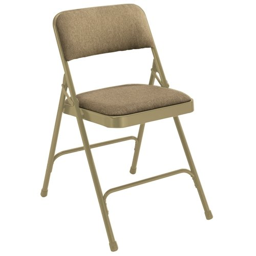 (National Public Seating 2201 Premium Fabric Folding Chair, 2200 Series, 1-1/4
