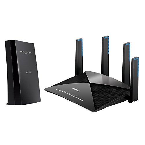 NETGEAR Nighthawk X6S Tri-Band WiFi Range Extender (EX8000) with NETGEAR Nighthawk X10 - AD7200 802.11ac/ad...