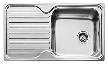 Teka Kitchen Sink Teka 10119056 1c 1e cn classico stainless steel single bowl sink teka 10119056 1c 1e cn classico stainless steel single bowl sink amazon diy tools workwithnaturefo