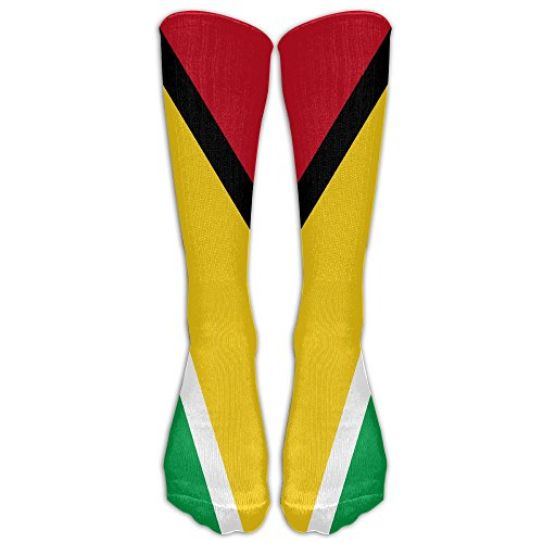 Guyana Flags Of Countries Compression Socks Sports Stockings Long Socks Football (Country Kids Soccer Bootie)