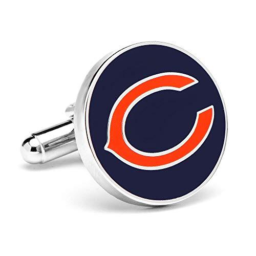 Chicago Bears Cufflinks Novelty 1 x 1in