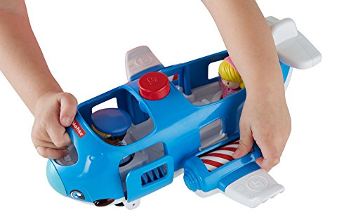 41VmlpkhVrL - Fisher-Price Little People Travel Together Airplane Vehicle