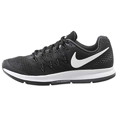 NIKE Women's WMNS Air Zoom Pegasus 33, Black/Cool Grey/Wolf Grey/White , 9 M US (Nike Air Zoom Total 90 Iii For Sale)