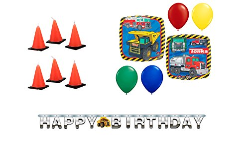 tonka truck party supplies - 6