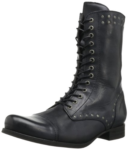 Diesel Women's The Wild Land Arthik Boot,Black,6 M US - Diesel Women Footwear