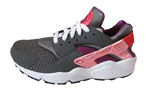Nike Herren Air Huarache Sneaker iron ore laser crimson bright grape 061