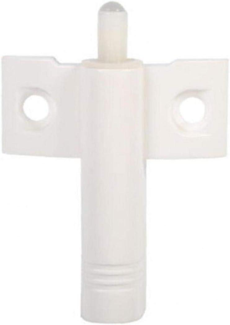 Angoter 10PCS Door Damper Butter Soft Quiet Close Kitchen Cabinet Door Drawer Closer Damper Buffers