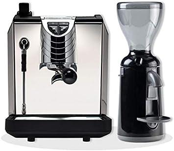 Máquina de café espresso Nuova Simonelli OSCAR II e molinillos de ...