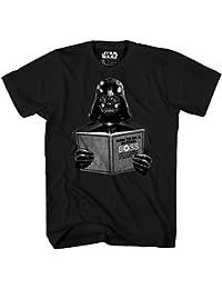Darth Vader Dark Side Empire Funny Humor Pun Adult Men's Graphic Tee T-Shirt