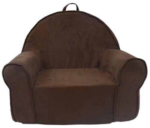 - Fun Furnishings 60247 My First Kids Club Chair in Micro Suede Fabric, Chocolate