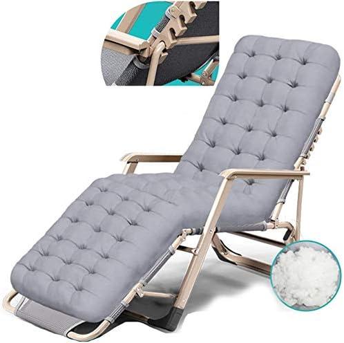 YZjk Sillas de jardín reclinables Tumbona Plegable portátil ...