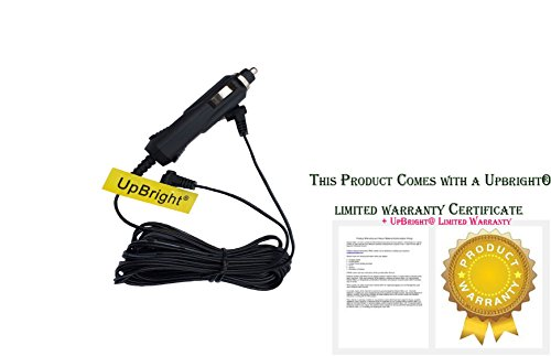 UpBright Car DC Adapter For RCA DRC62705E24G DRC62705 DRC62705E DRC62705E24 DRC 62705 DRC 62705E24G Double Play Mobile DVD Movie System Auto Vehicle Camper Lighter Plug Power Supply Cord Cable