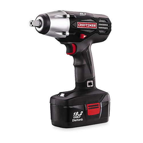 "033287151646 - Craftsman C3 1/2"" Cordless 19.2 Volt Impact Wrench Driver Kit carousel main 0"