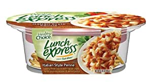 Healthy Choice Lunch Express, Italian Style Penne 6.95-Ounce Bowls (Pack of 6)