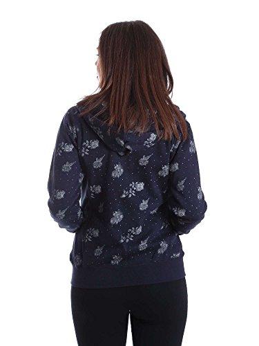 Key up SF39 0001 Sweatshirt Femmes Bleu XL