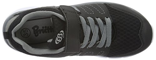 Sneakers Vs Schwarz Unisex Black EB kids Top Grau Low Kids' Crater IqCZAwZ0x
