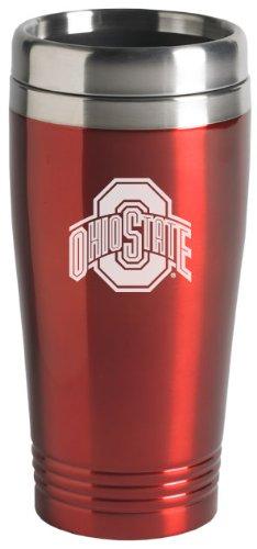 LXG Ohio State University - 16-ounce Travel Mug Tumbler - Red -