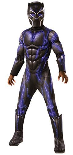 Rubie's Deluxe Black Panther Child's Costume, Blue, Small -