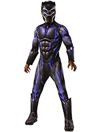 Costume Deluxe Black Panther Child's Costume, Blue, Medium