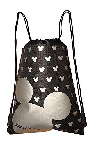 (Disney Mickey Mouse Drawstring Backpack Bag)