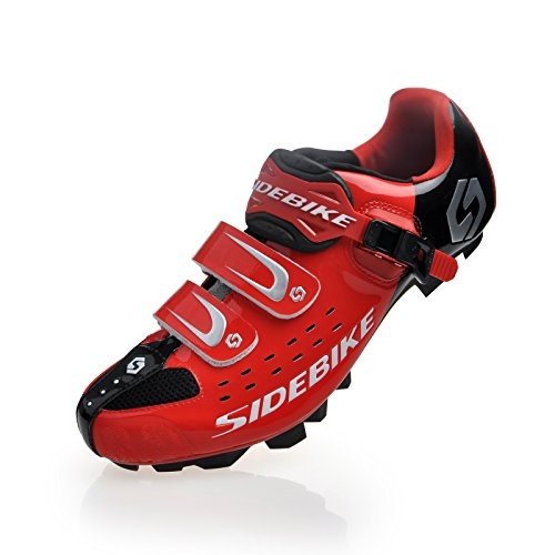 Smartodoors Men's MTB Bike Road Cycling Shoes for Road and MTB(Ree for MTB, US10)