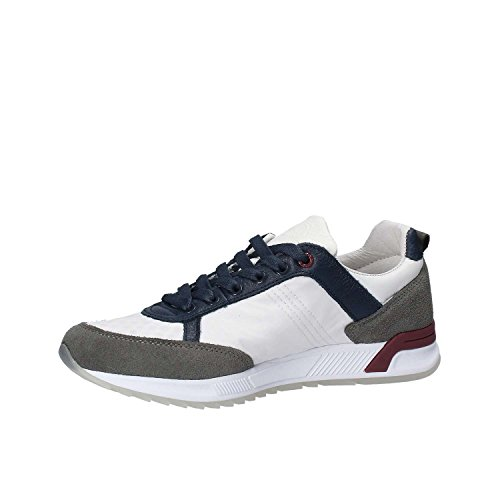 Colmar TRAVIS ORIGINALS 002 WHITE Sneaker regular Blau Grau Rot Weiß