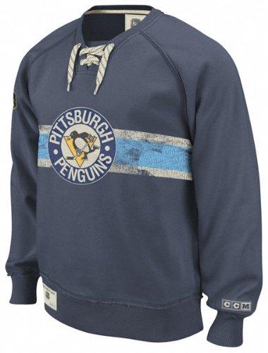 Pittsburgh Penguins Team Classics Hockey Fleece Crewneck Sweatshirt 068d2bdb0