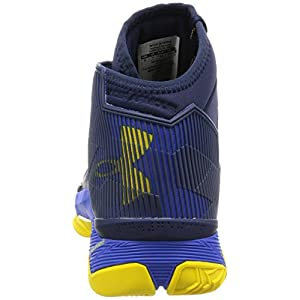 Under Armour Men's UA Curry 2.5 Team Royal/Midnight Navy/Taxi Athletic Shoe