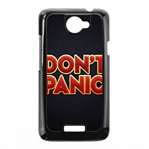 HTC One X Cell Phone Case Black 2 The Hitchhikers Guide to the Galaxy Rggvy