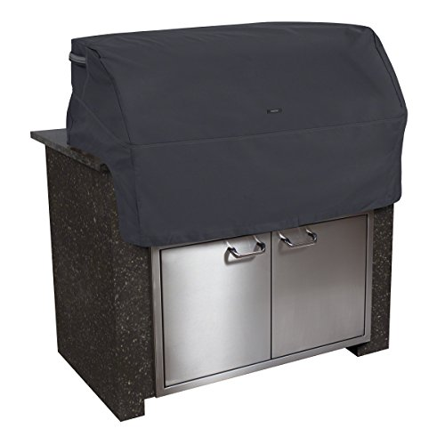 (Classic Accessories 55-397-360401-EC Ravenna Cover for Built-In Grills, Black (X-Small))