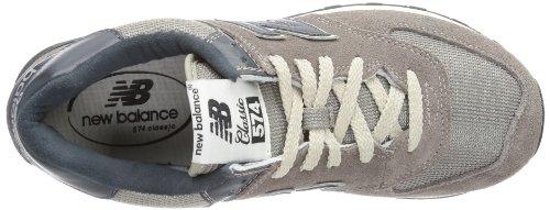 New Balance ML574VGN-D Gris Homme Chaussures NewBalance