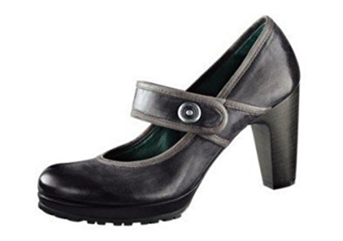 Court Shoes by I`m Walking from Leather in Anthracite Anthracite K83mhm2SUB