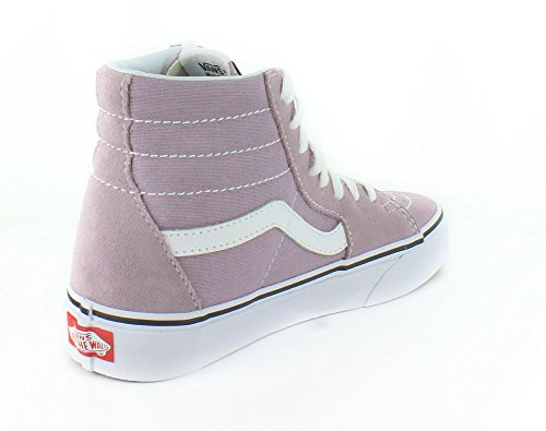 Vans Sk8-Hi Slim, Unisex-Adults' High-Top Trainers Sea Fog/True White