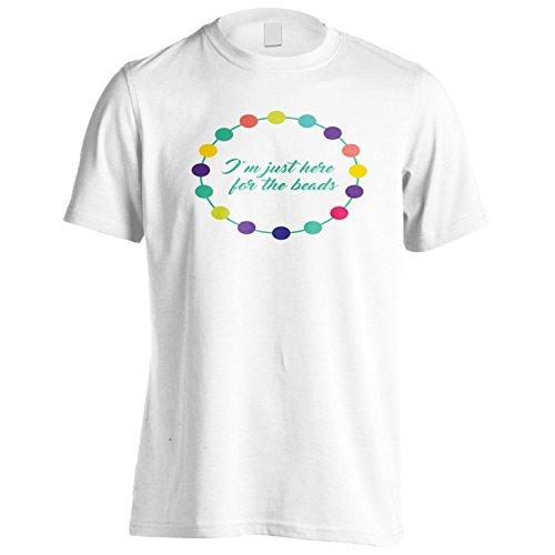 Ich Bin Nur Hier Für Die Perlen Herren T-Shirt k791m