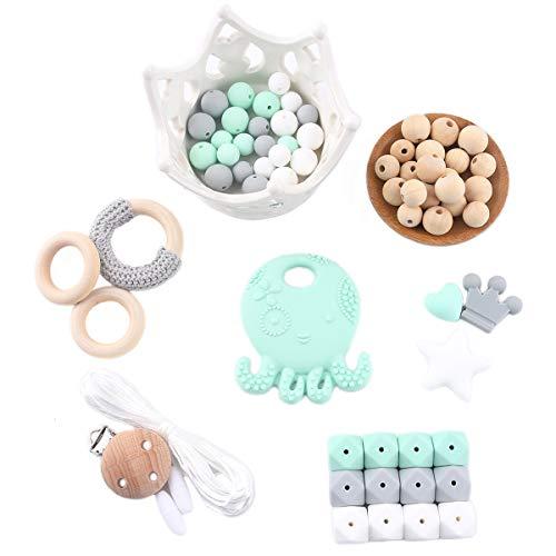 Top silicone teething beads kit