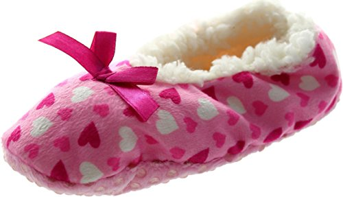 Generic  Ex-display Bow Heart, Chaussons pour fille rose rose