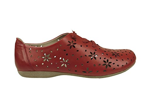 27 4 Fiona Derbys Seibel Women's Josef UK Rot Blue w6qCZa