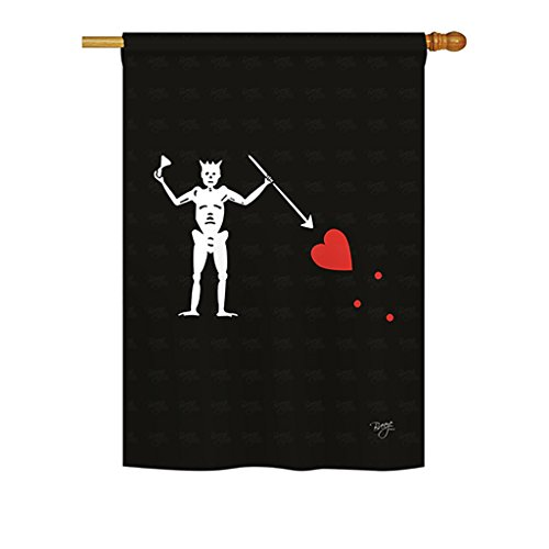 (Blackbeard's Condent's Pirate Large Flag 28