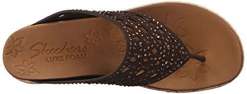 Skechers Damen Beverlee-Dazzled Schuh Chocolate