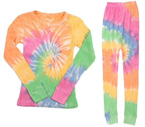 Just Love Girls Tie Dye Two Piece Thermal Underwear Set 95461-10363-5-6