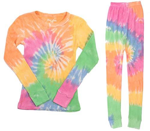 (Just Love Girls Tie Dye Two Piece Thermal Underwear Set 95461-10363-7-8)