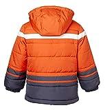Sportoli Boys' Fleece Lined Hooded Colorblock