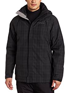 Merrell Men's Sharp Peak Insulated Parka (Basalt Plaid, XX-Large)