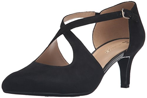 Naturalizer Okira Black Suede Pumps, Classics Womens Heels Size 11 New