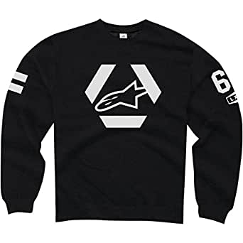 ALPINESTARS Sniper Sweatshirt Cotton Polyester Black Large