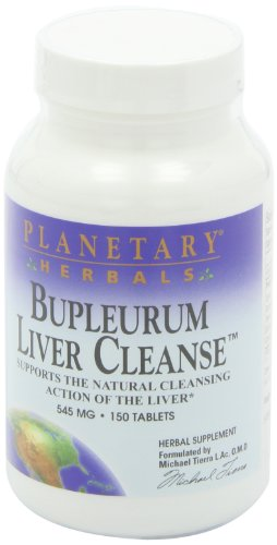 Planetary Herbals Bupleurum Liver Cleanse 545mg - With Calcium, Cypress Rhizome, Ginger & More - 150 Tablets (Pack of 2) by Planetary Formulas (Image #8)