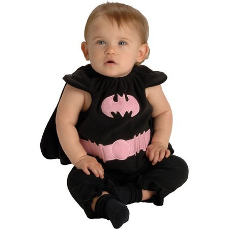 Rubies Costumes 145169 Batgirl Bib Newborn Costume Size: Newborn