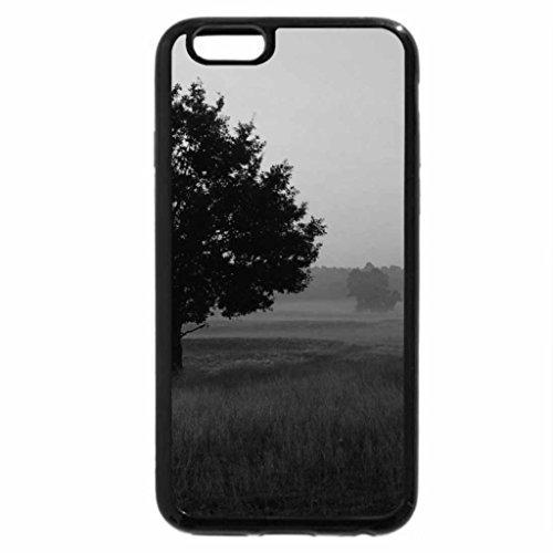 iPhone 6S Plus Case, iPhone 6 Plus Case (Black & White) - Autumn scenes