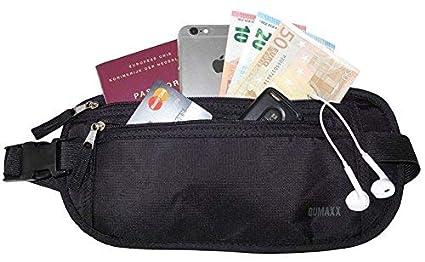 Cinturón Monedero [con Protección RFID] - Ideal para viajar – ¡Mantenga seguros sus objetos de valor con este cinturón monedero de viaje cómodo y ...